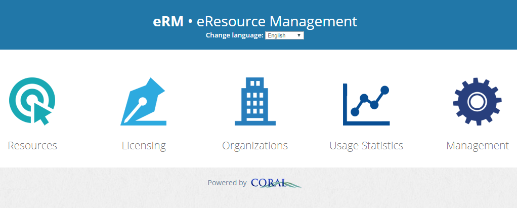 CORAL – An Open Source Electronic Resource Management System